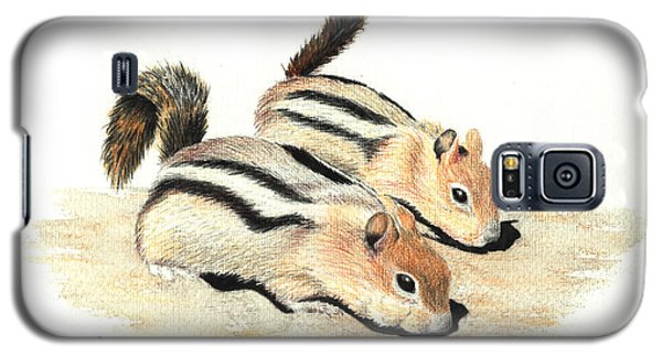 Golden-mantled Ground Squirrels Galaxy S5 Case