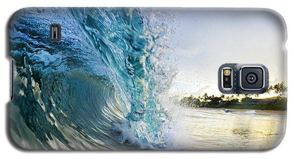 Beach Galaxy S5 Case - Golden Mile by Sean Davey