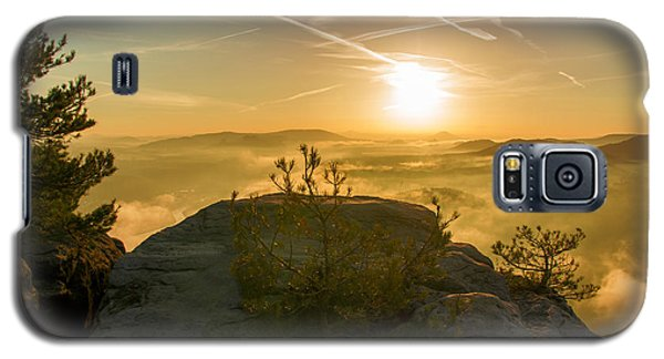 Golden Morning On The Lilienstein Galaxy S5 Case