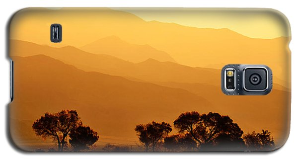 Golden Mountain Light Galaxy S5 Case by David Lawson