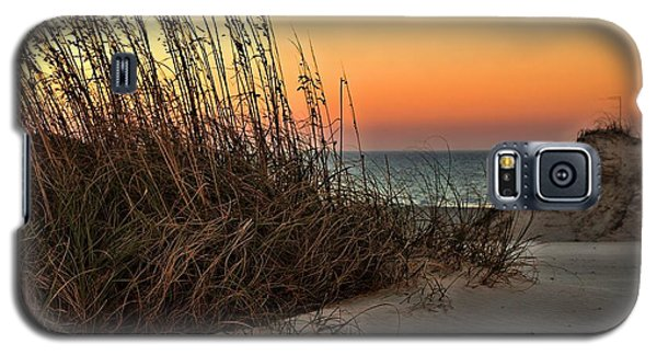 Galaxy S5 Case featuring the photograph Golden Oats by Laura Ragland