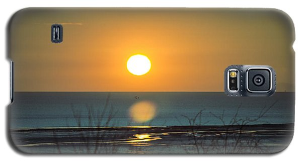 Golden Orb Galaxy S5 Case by Spikey Mouse Photography