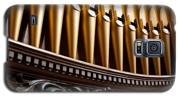 Golden Organ Pipes Galaxy S5 Case