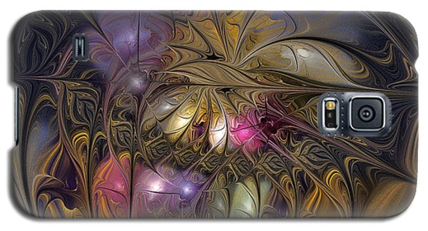 Golden Ornamentations-fractal Design Galaxy S5 Case