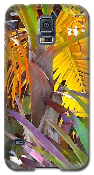 Golden Palm 2 Galaxy S5 Case by Darla Wood