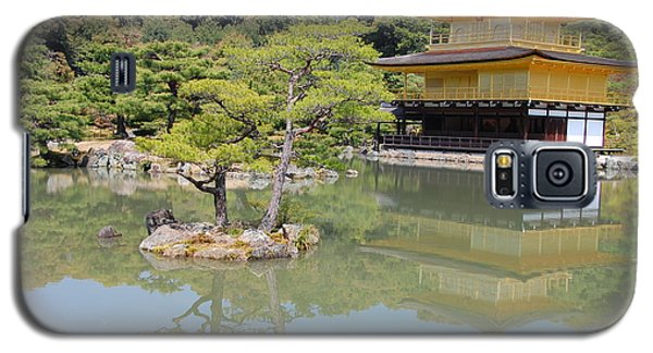 Galaxy S5 Case featuring the photograph Golden Pavilion by Jonah  Anderson
