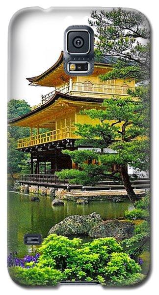Golden Pavilion - Kyoto Galaxy S5 Case by Juergen Weiss