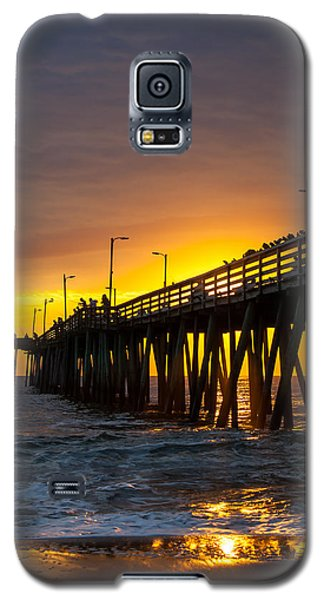 Golden Pier Galaxy S5 Case by Dawn Romine