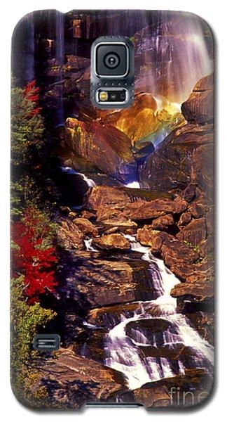 Golden Rainbow Galaxy S5 Case