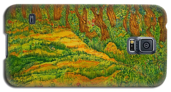 Galaxy S5 Case featuring the painting Everyday-a New Beginning by Susan D Moody