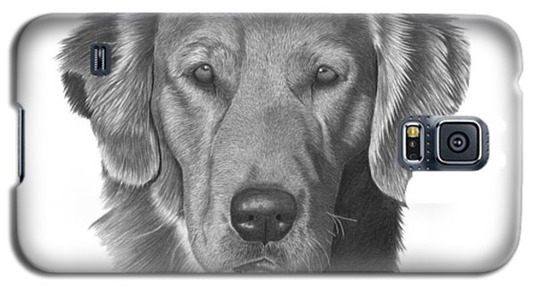 Golden Retriever - 026 Galaxy S5 Case by Abbey Noelle