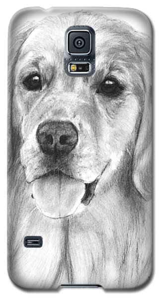 Golden Retriever Jessie Adult Galaxy S5 Case