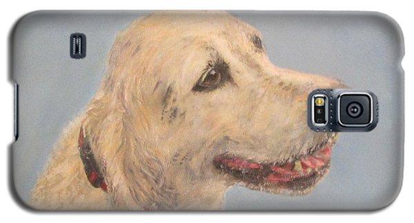 Pet Portrait Of Golden Retriever Maisie  Galaxy S5 Case