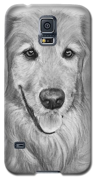 Golden Retriever Sketch Galaxy S5 Case by Kate Sumners