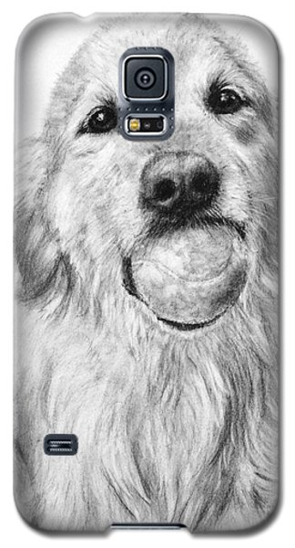 Golden Retriever With Ball Galaxy S5 Case