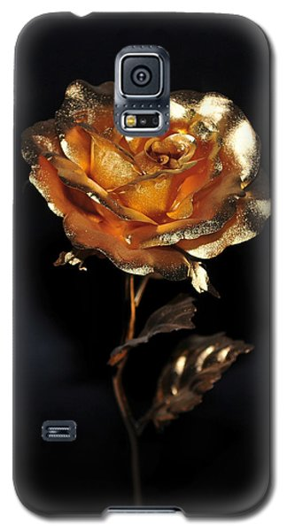 Golden Rose Galaxy S5 Case