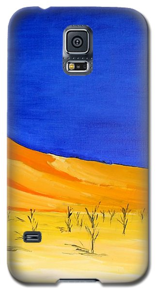 Golden Sand Dune Right Panel Galaxy S5 Case