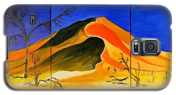 Golden Sand Dune_triptych Galaxy S5 Case