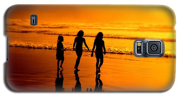 Galaxy S5 Case featuring the photograph Golden Sands  by Micki Findlay