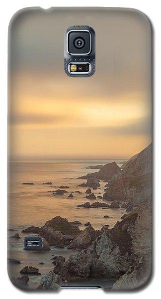 Golden Seashore Galaxy S5 Case