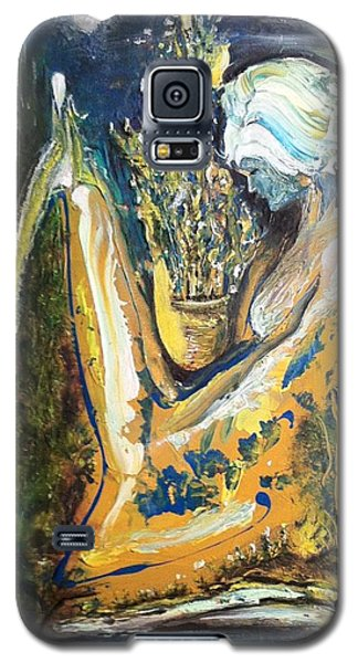 Golden Serenities Galaxy S5 Case by Kicking Bear  Productions