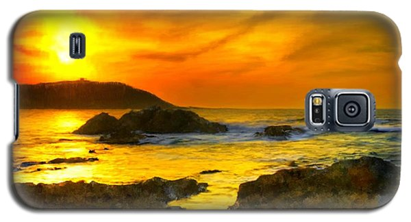 Golden Sky Galaxy S5 Case by Bruce Nutting