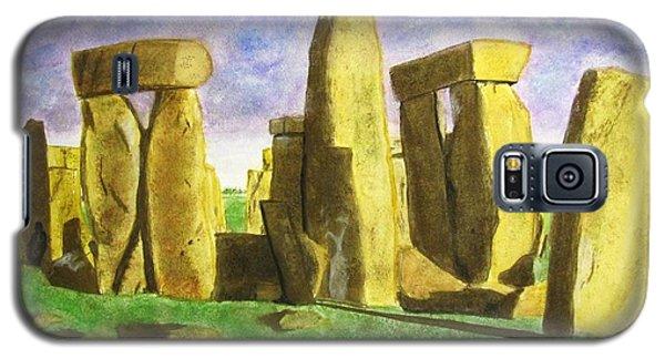 Golden Stonehenge Galaxy S5 Case