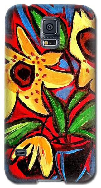 Golden Sunflowers Galaxy S5 Case