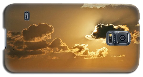 Galaxy S5 Case featuring the photograph Golden Sunrise by Joan McArthur