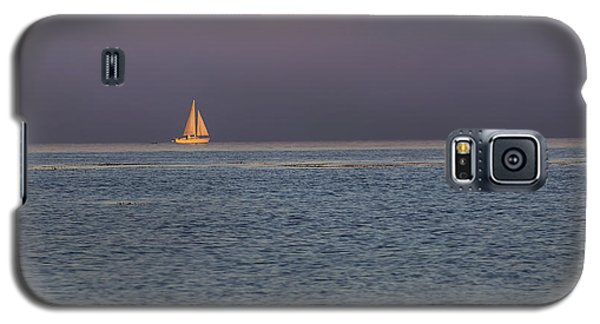 Golden Sunrise Sails By Denise Dube Galaxy S5 Case
