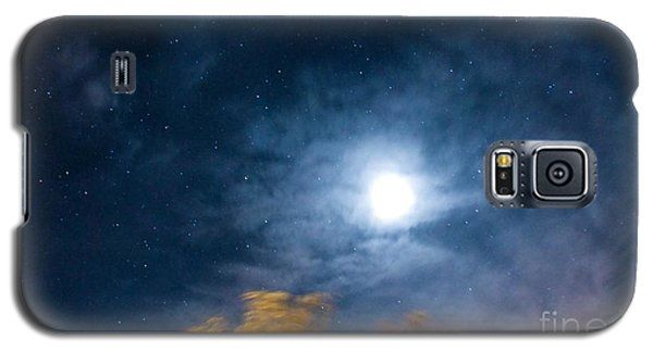 Galaxy S5 Case featuring the photograph Golden Tree  by Angela J Wright