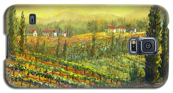 Golden Tuscany Galaxy S5 Case by Lou Ann Bagnall
