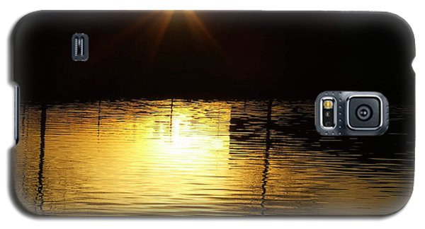 Golden Water Galaxy S5 Case