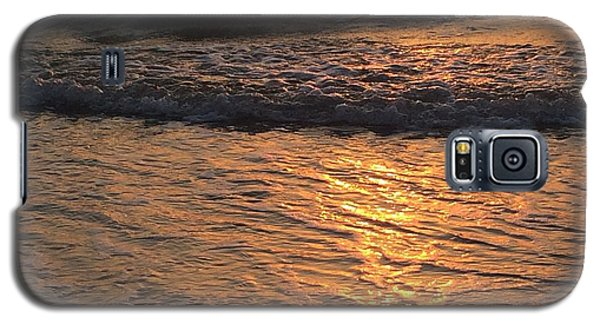 Golden Waves Galaxy S5 Case