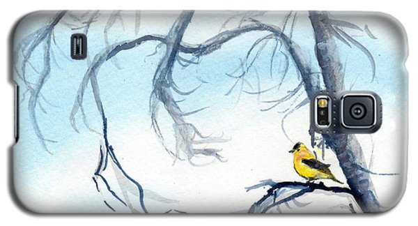 Goldfinch In Tree Galaxy S5 Case