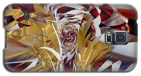 Galaxy S5 Case featuring the digital art Goldigger by rd Erickson
