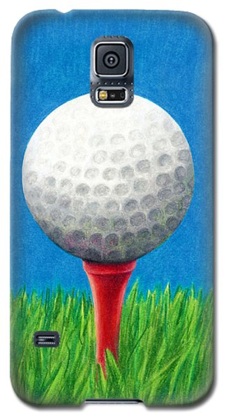 Golf Ball And Tee Galaxy S5 Case