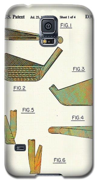 Golf Club Patent-1989 Galaxy S5 Case