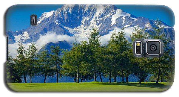 Golf Course In The Mountains - Riederalp Swiss Alps Switzerland Galaxy S5 Case
