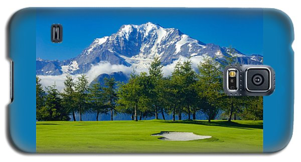 Golf Course In The Mountains - Riederalp Swiss Alps Switzerland Galaxy S5 Case