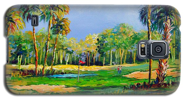 Golf In The Tropics Galaxy S5 Case by Lou Ann Bagnall