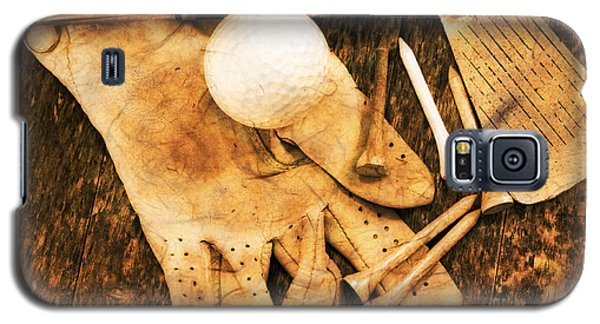 Golf Memorabilia Galaxy S5 Case by Charline Xia