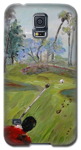 Golfing At Monarch Galaxy S5 Case