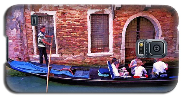 Galaxy S5 Case featuring the photograph Gondola 4 by Allen Beatty