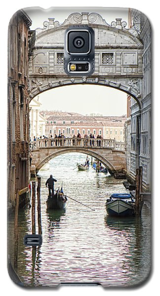 Gondolas Under Bridge Of Sighs Galaxy S5 Case