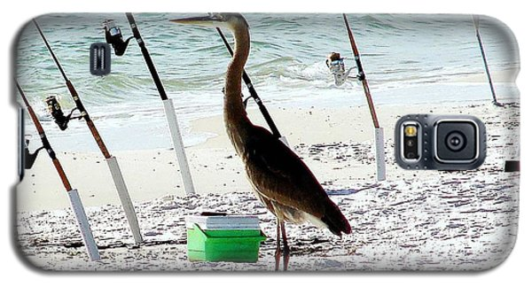 Galaxy S5 Case featuring the photograph Gone Fishing by Debra Forand