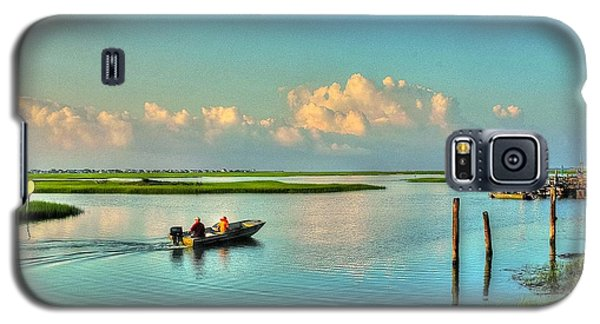 Gone Fishing Galaxy S5 Case by Ed Roberts