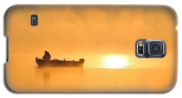 Galaxy S5 Case featuring the photograph Gone Fishing by Terri Gostola
