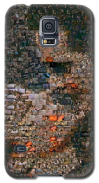 Gone With The Wind Scene Mosaic Galaxy S5 Case by Paul Van Scott