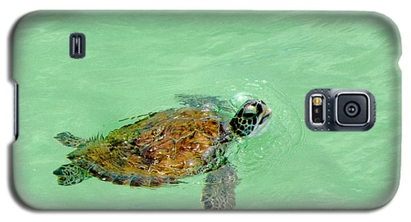 Galaxy S5 Case featuring the photograph Good Day For A Swim  by Susan  McMenamin